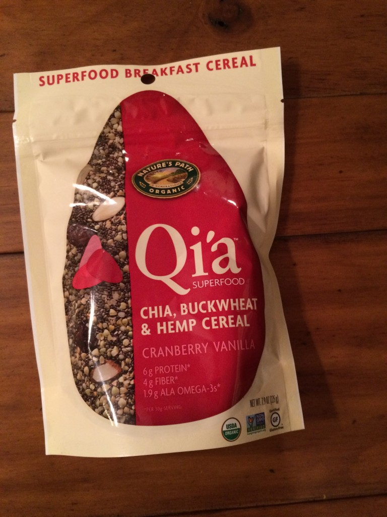 Nature's Path Organic Qi'a Cranberry Vanilla Cereal