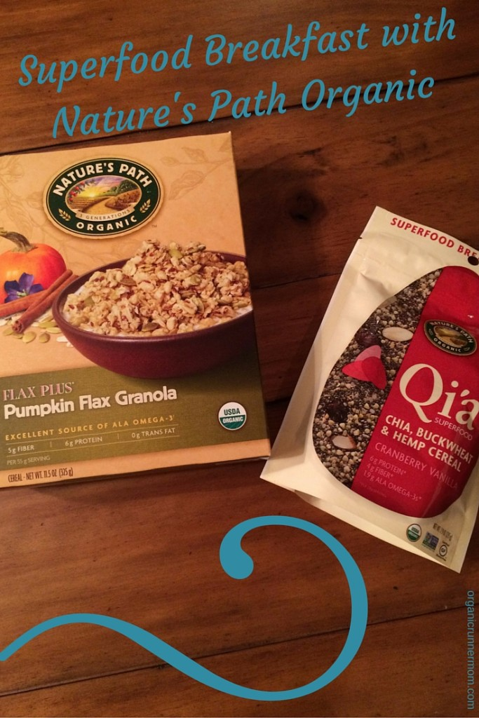 Superfood Breakfast with Nature's Path Organic