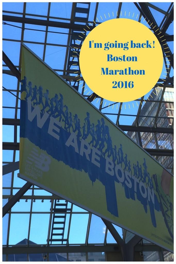 I'm going back! Boston Marathon 2016 with Team Stonyfield