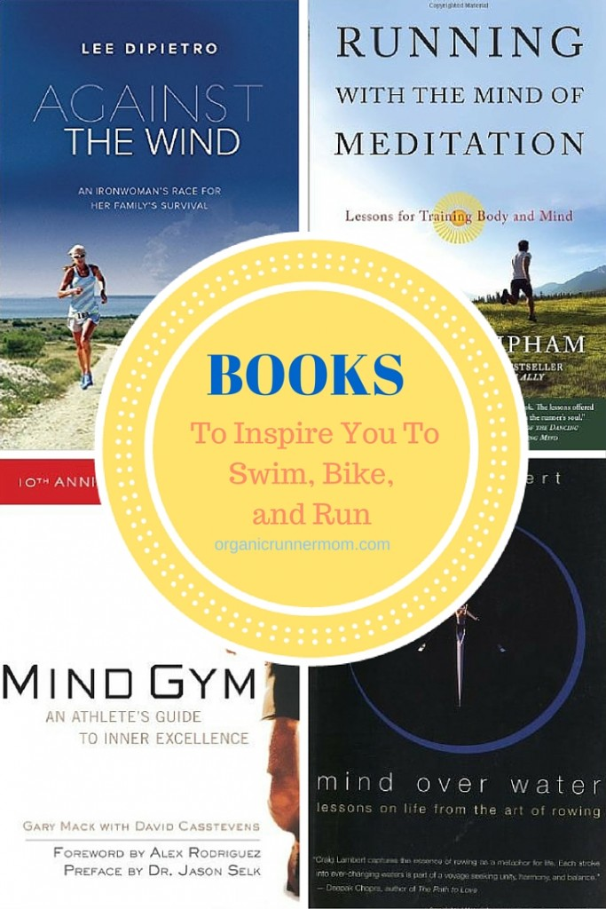 Best Books to Inspire You to Swim, Bike, and Run