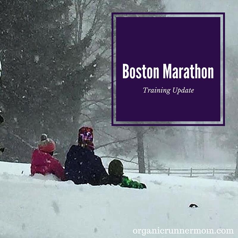 Boston Marathon Training Update