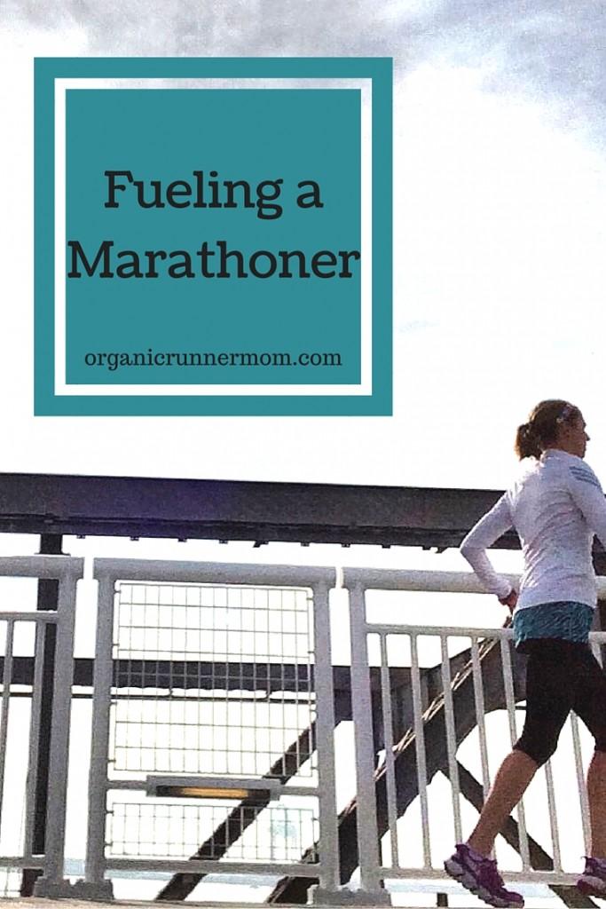 Fueling a marathoner