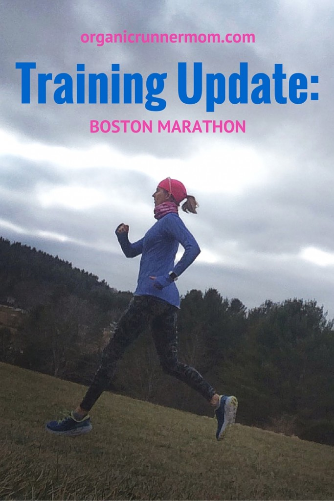 Training Update-Boston Marathon