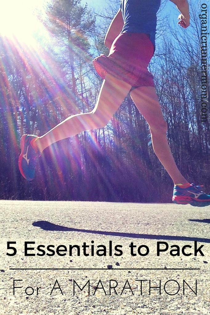 5 Essentials to Pack For a Marathon
