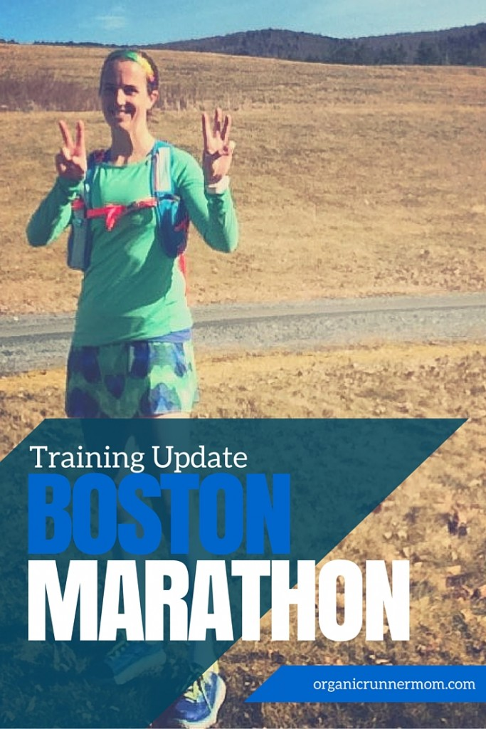 Boston Marathon Training Update