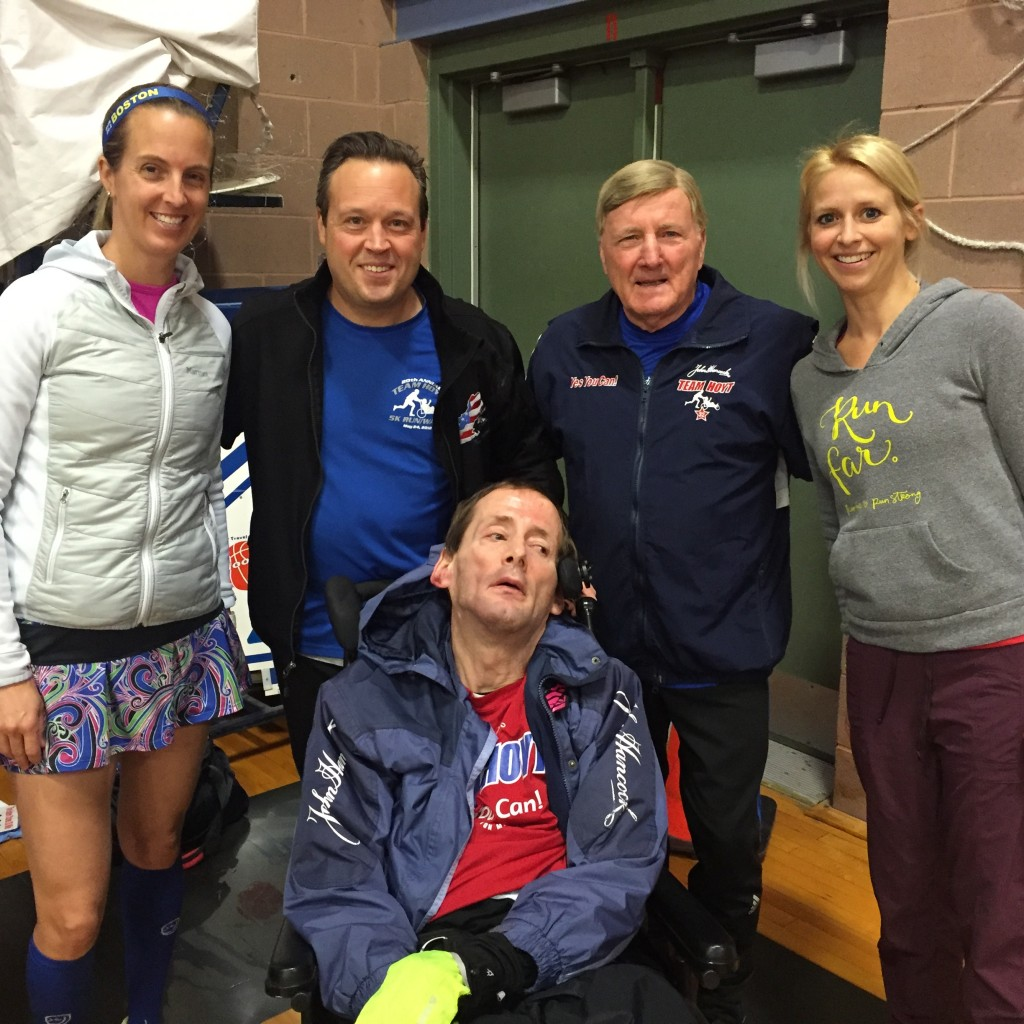 Team Hoyt at the Eastern States 20 Miler