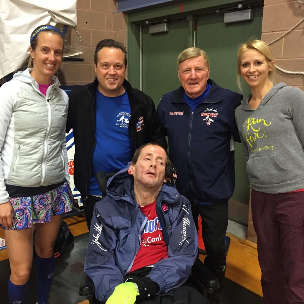 Team Hoyt at the Eastern States 20 Miler