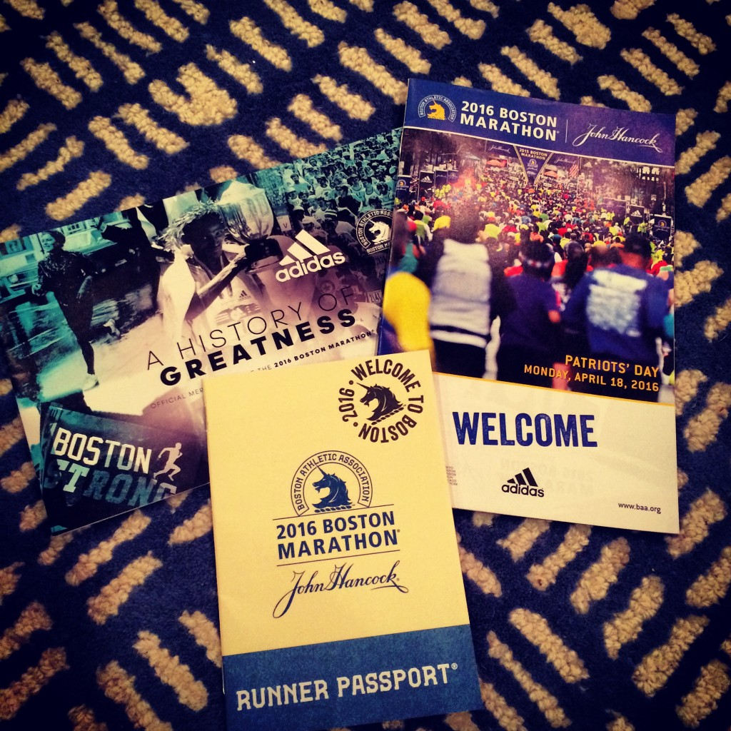 Boston Marathon Runner Passport!