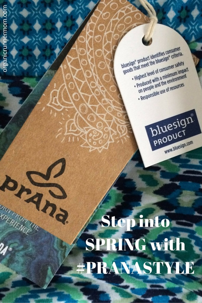 Step into SPRING with prana .