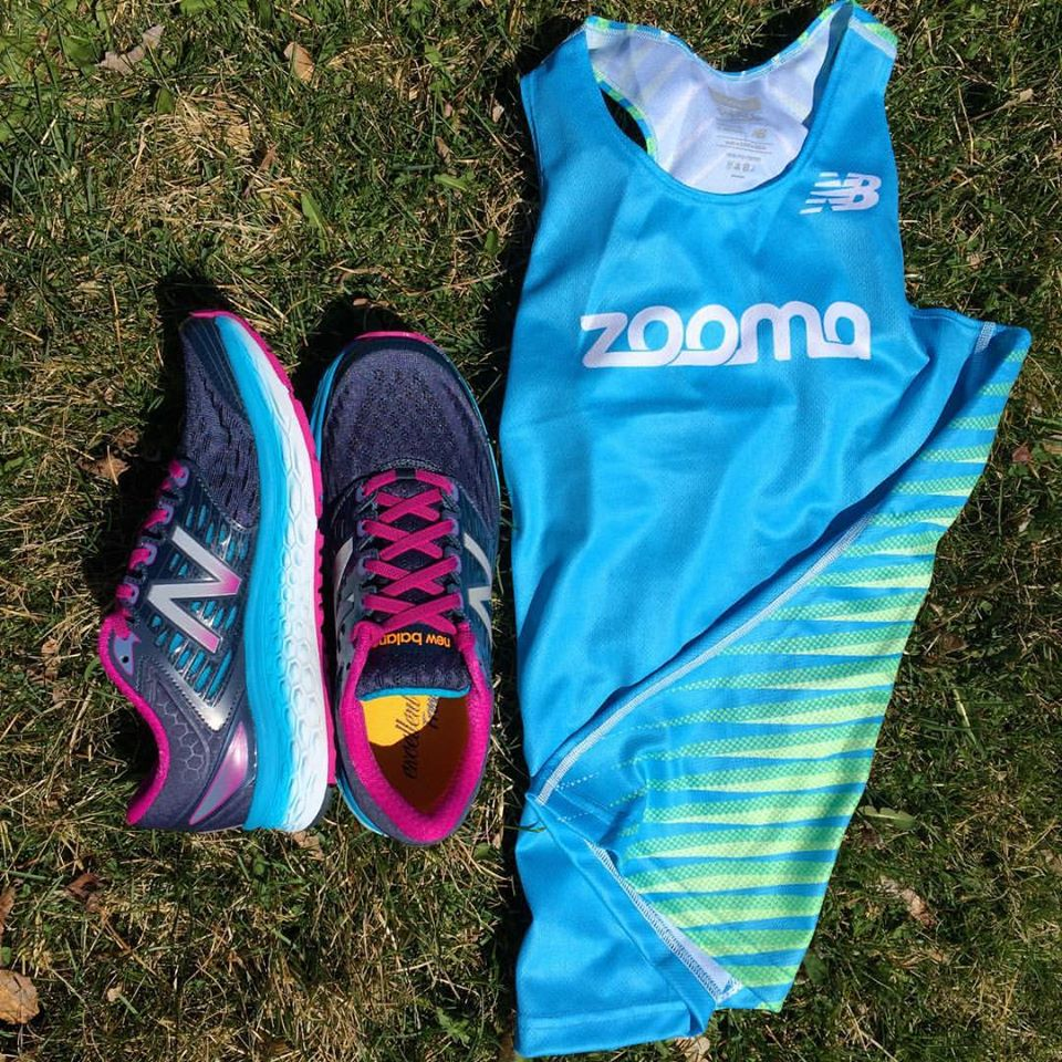 Awesome ZOOMA Women's Race Series Ambassador Gear from New Balance (Fresh Foam 1080's) #AlwaysInBeta