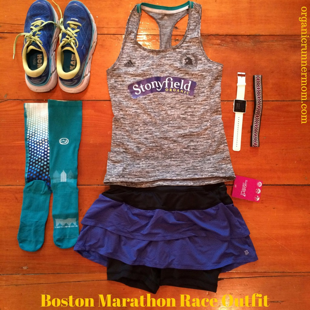 Boston Marathon Race Outfit
