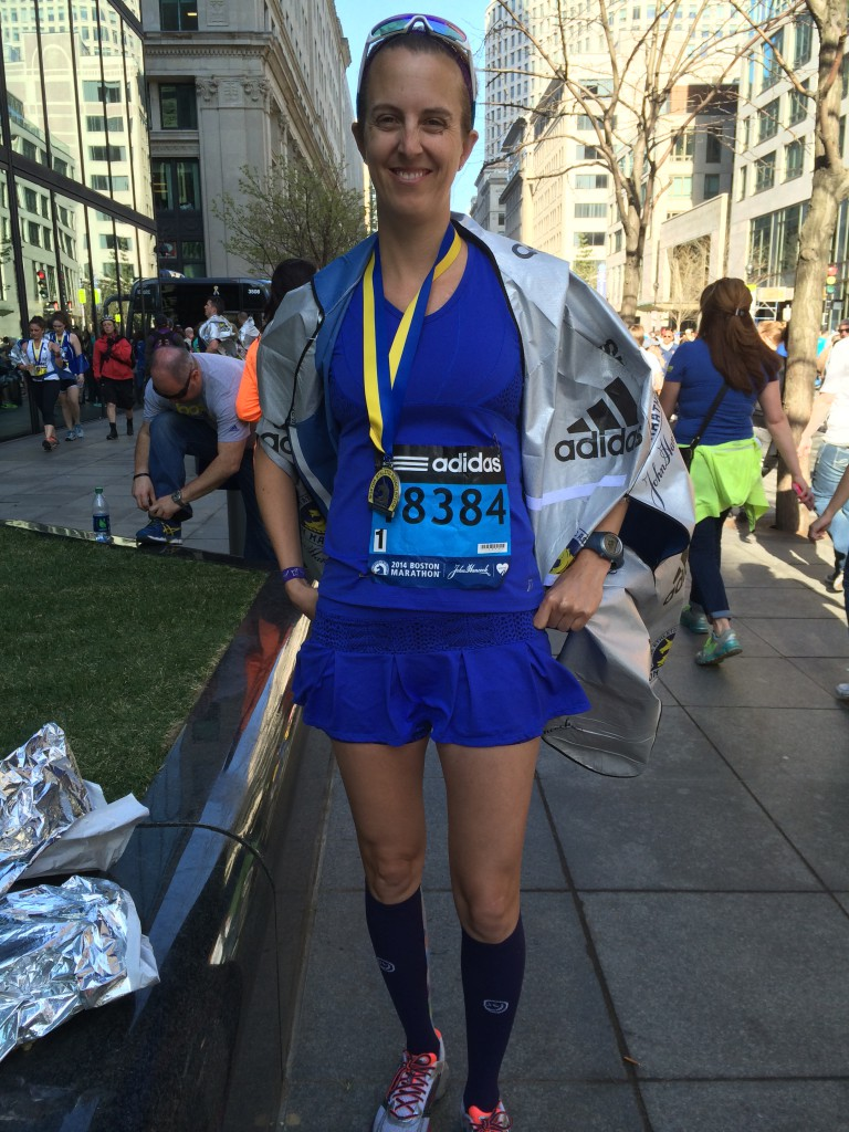 Boston Marathon Finisher 2014