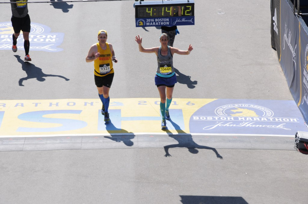 Yes!!!!! I qualified for the Boston Marathon next year!