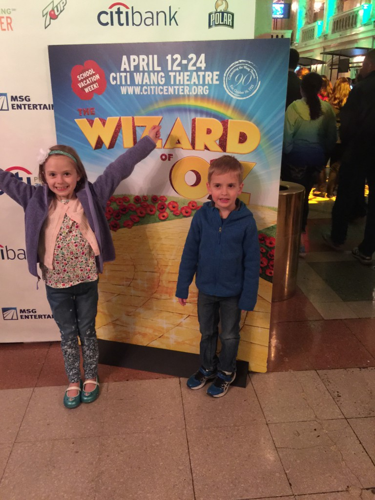 Excited for The Wizard of Oz