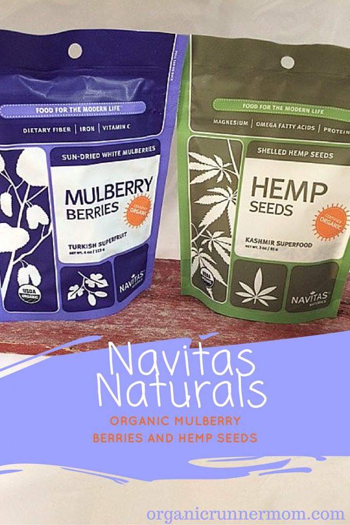 Navitas Naturals Organic Mullberry Berries and Hemp Seeds
