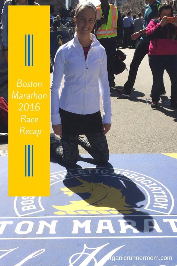 Boston Marathon 2016 Race Recap