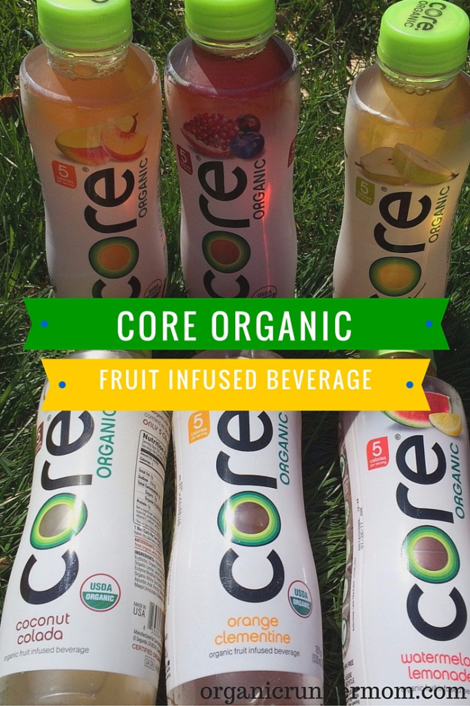 Core Organic Fruit Infused Beverages