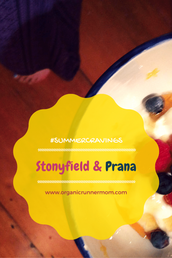 #SummerCravings Stonyfield and prAna