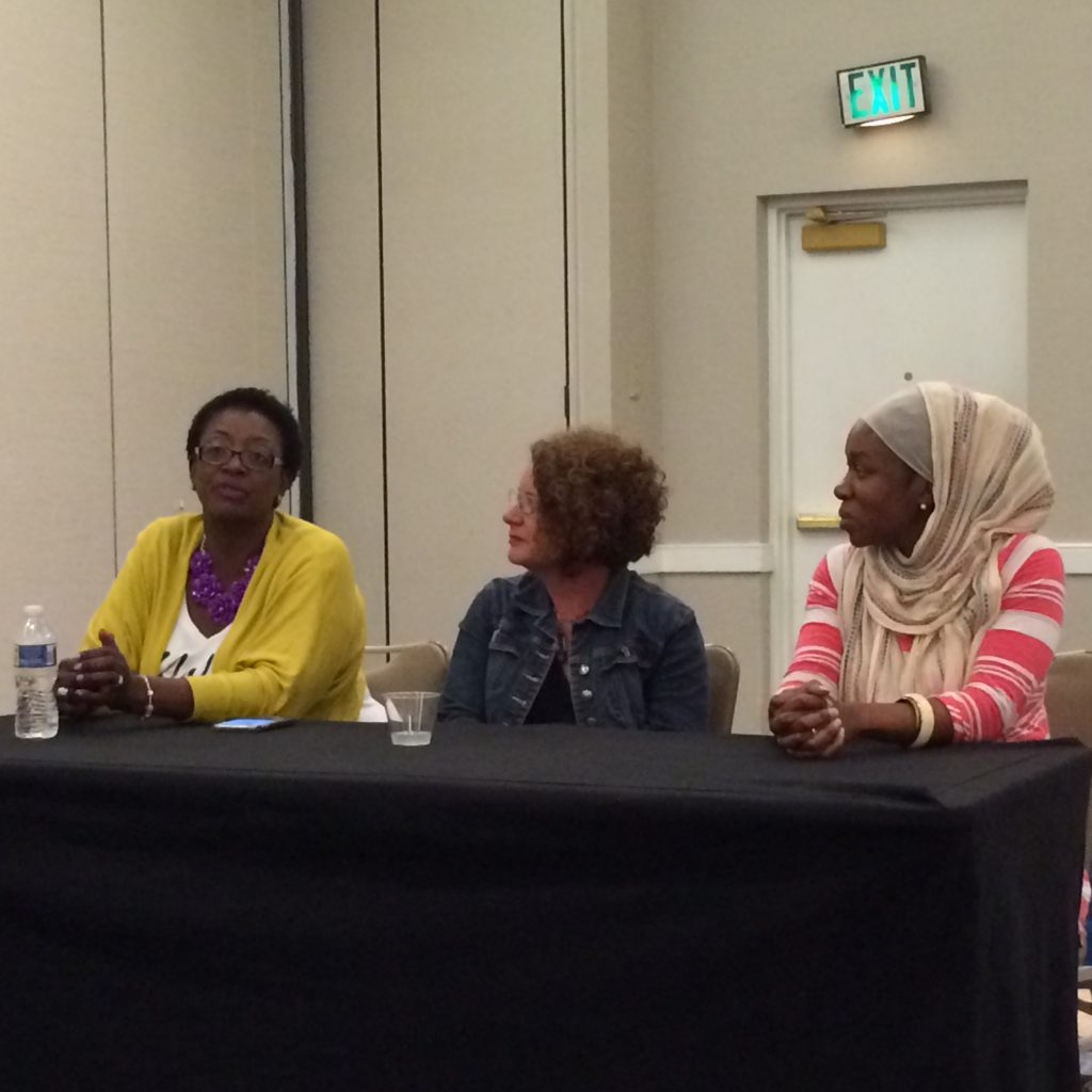 Diversity in Running panel at the ZOOMA Women's Race Series