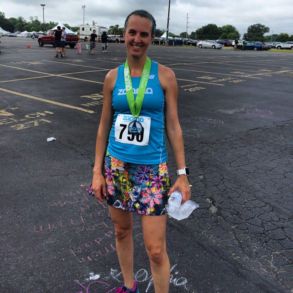 Now that was a hot half marathon!