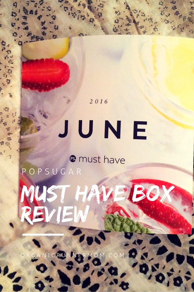 June POPSUGAR Must Have Box Review