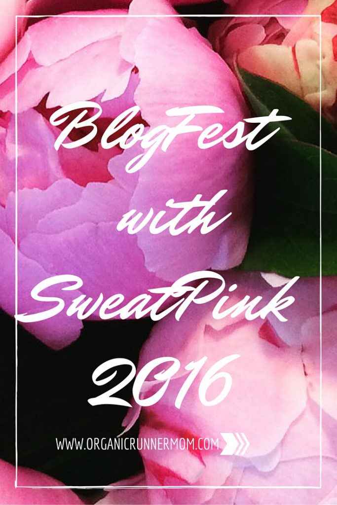 BlogFest with SweatPink 2016
