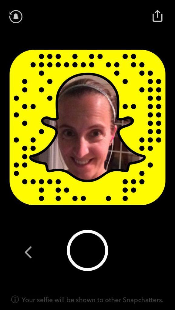 Snapcode on Snapchat
