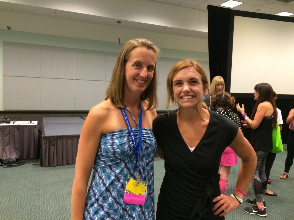 With Jamie Founder of Fit Approach and Sweatpink