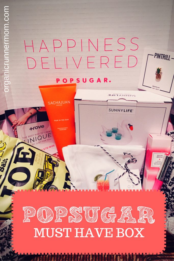 POPSUGAR Must Have Box July 2016