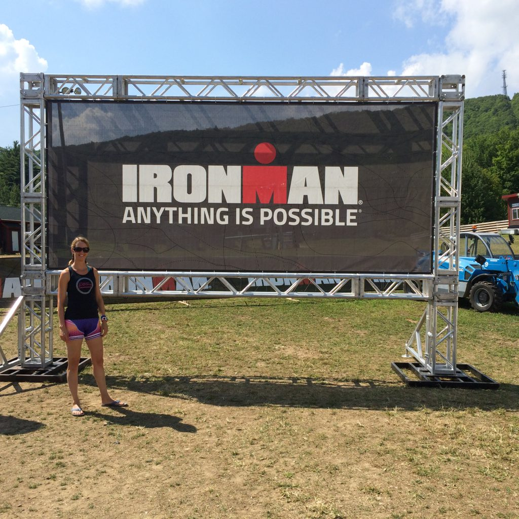 Getting ready for my second Timberman Half Ironman this weekend!