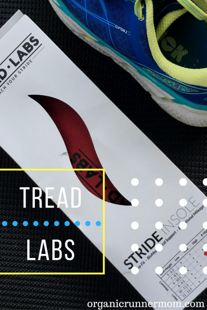 Tread Labs Stride Insole for Runners