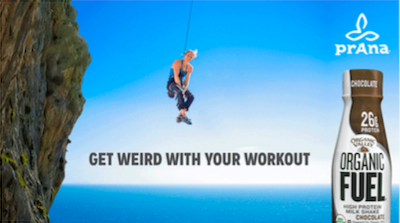 prAna and Organic Valley #weirdworkout giveaway