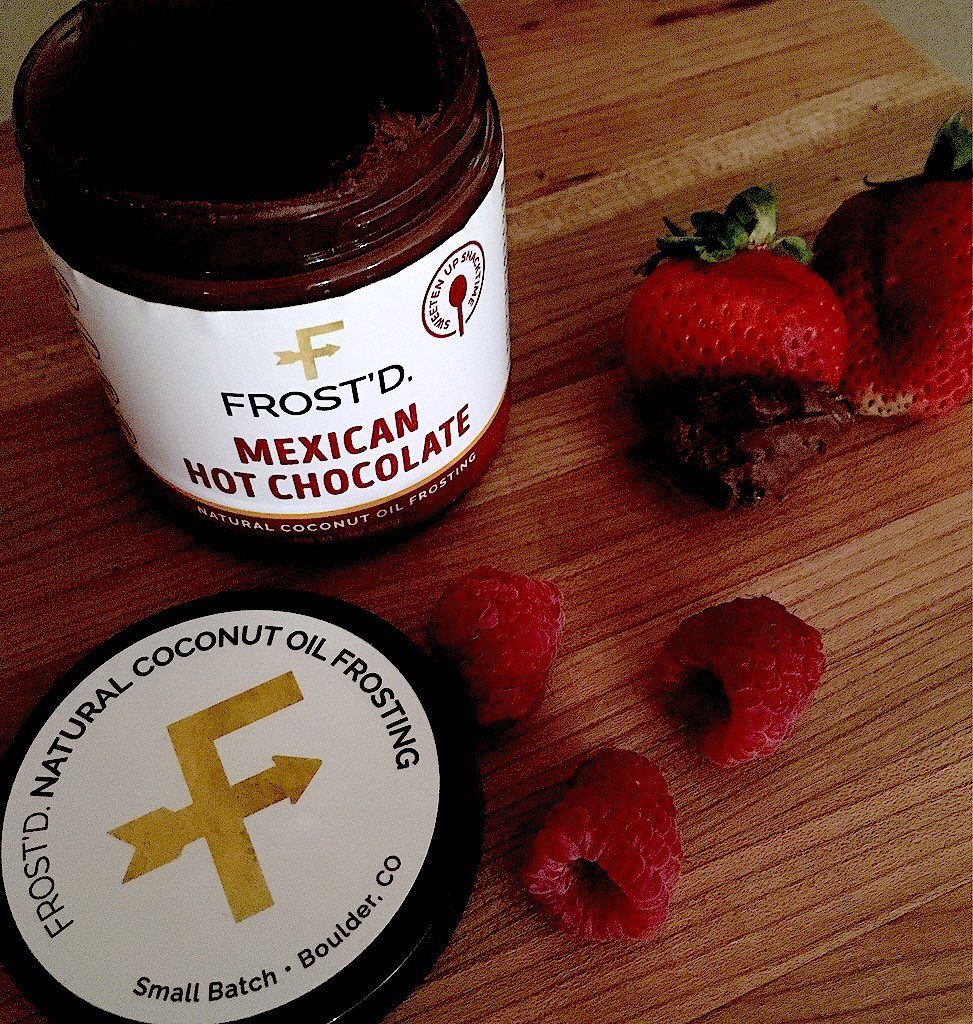 FROST'D Natural Coconut Oil Frosting Mexican Hot Chocolate