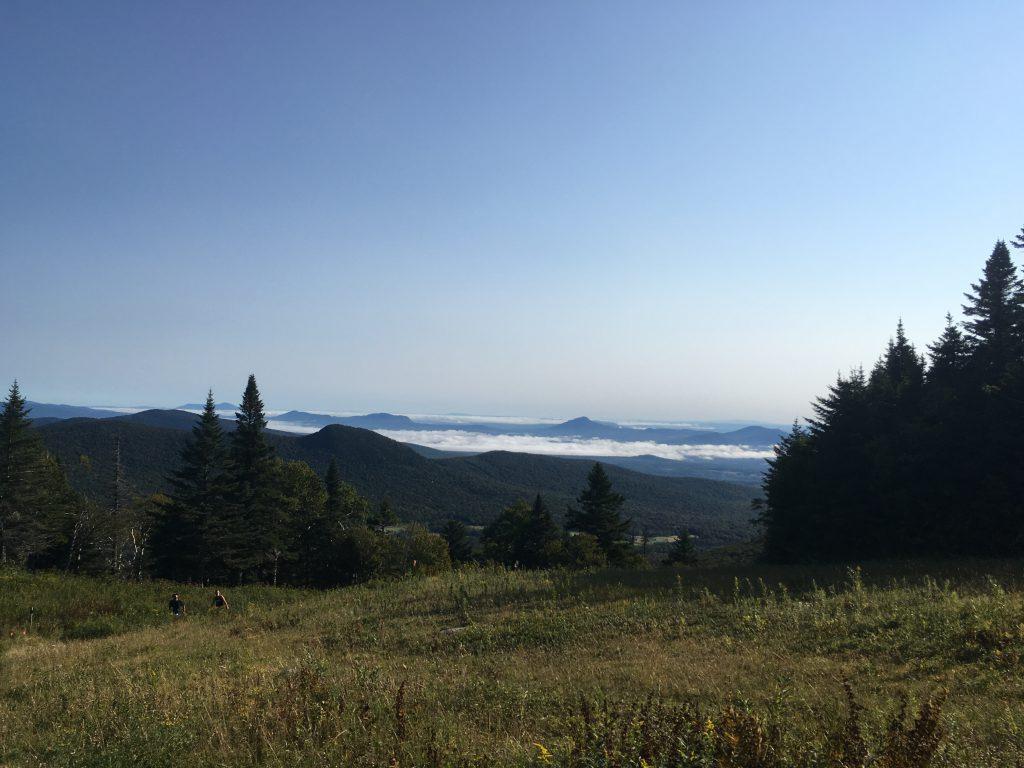 Trail Running at Jay Peak Mountain Resort