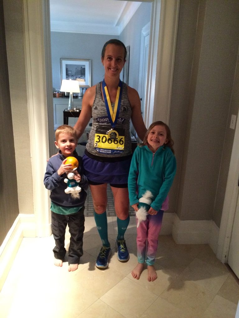 Thankful for my experience running the 2016 Boston Marathon with Team Stonyfield
