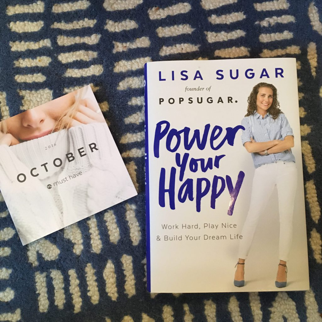 Power Your Happy. Lisa Sugar