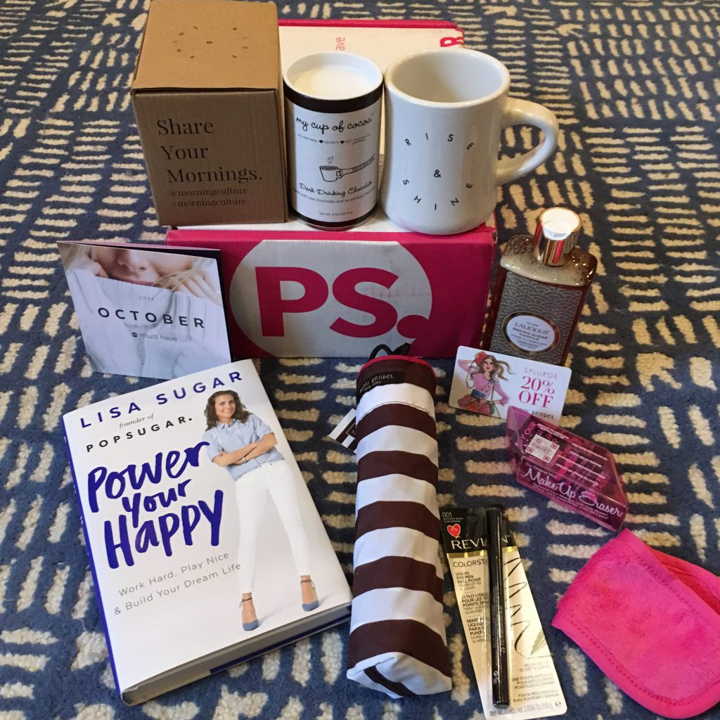 POPSUGAR MUST HAVE Box October