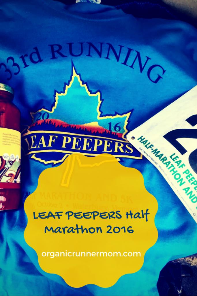 Leaf Peepers Half Marathon 2016