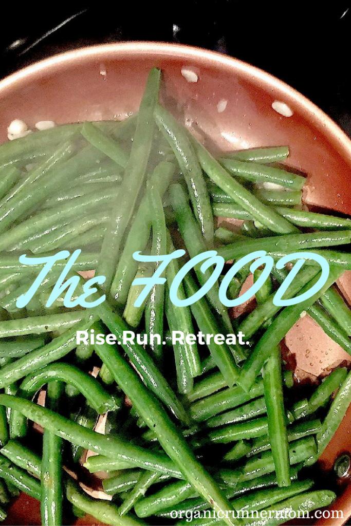 The Food. Rise. Run. Retreat.