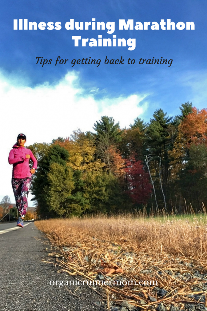 What can you do if you get sick during marathon training?