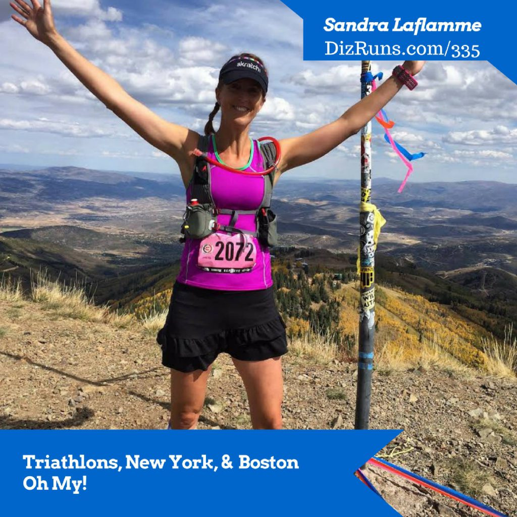 Give a listen to this podcast for runners which features me! Diz Runs!