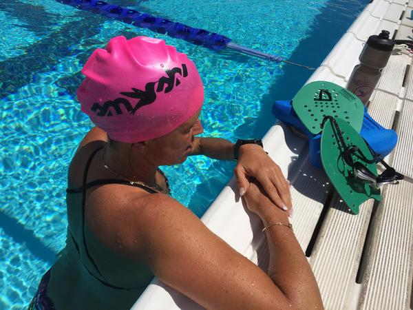 Holiday Gift Guide for Triathletes. Swim Cap from Smashfest Queen