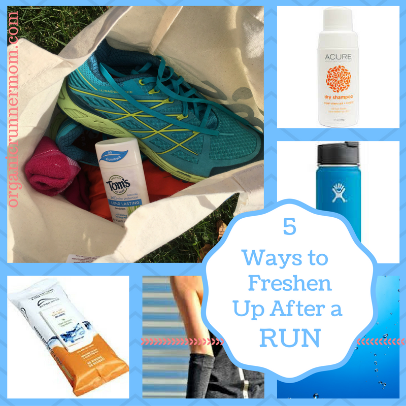 5 Ways to Freshen Up After a Run
