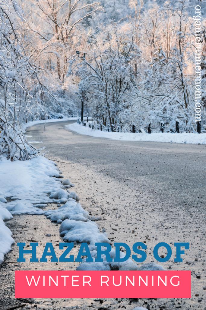Hazards of winter running