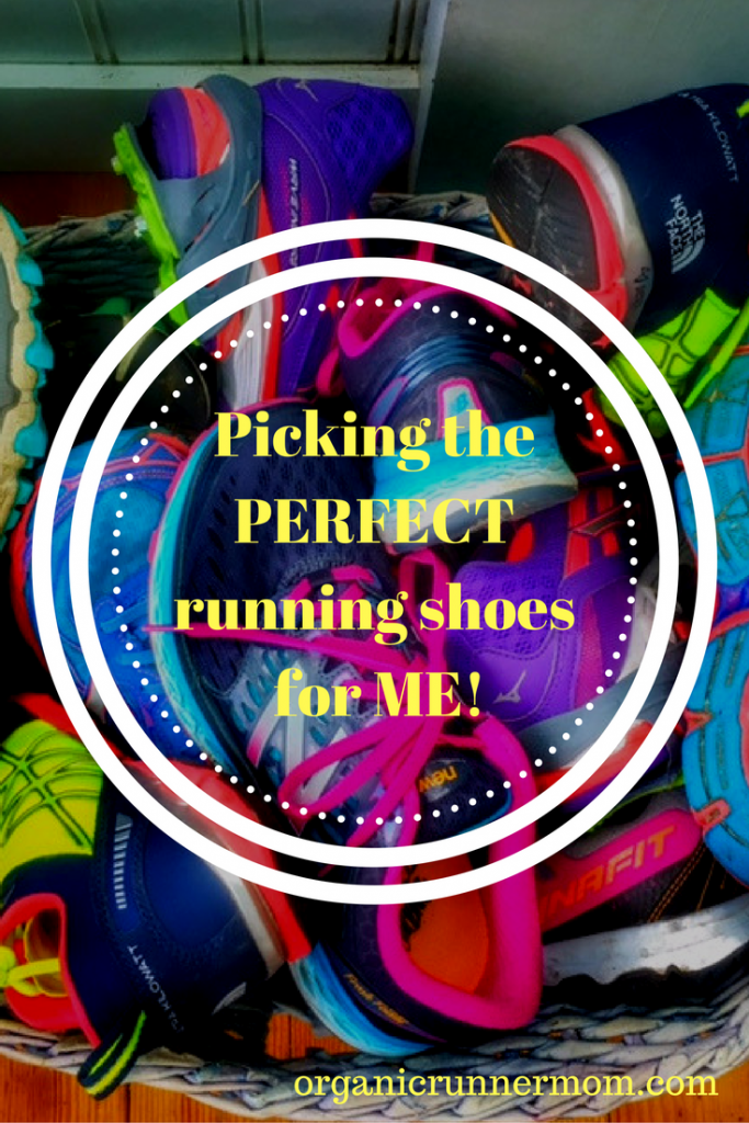 Picking the perfect running shoes for me!
