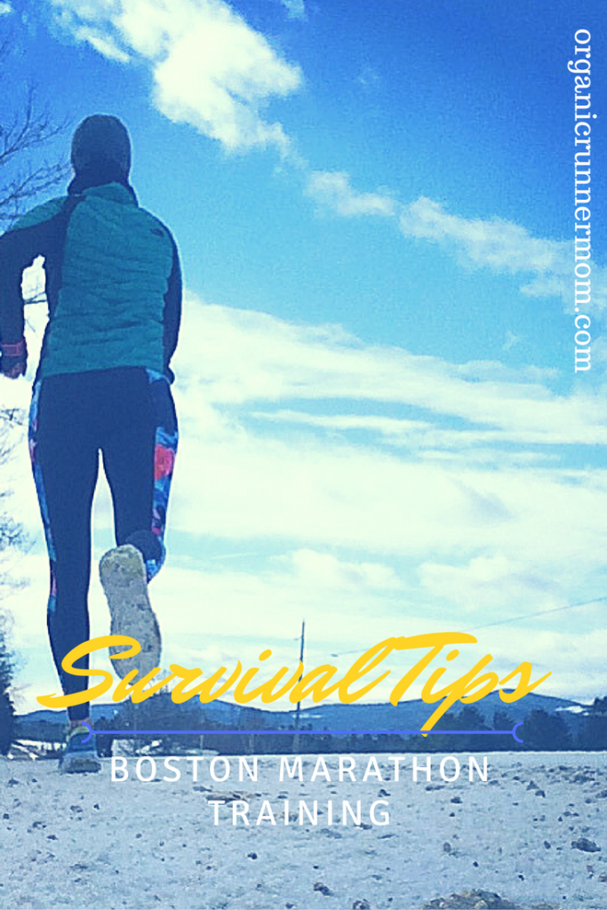 Survival Tips for Training for training for the Boston Marathon Running