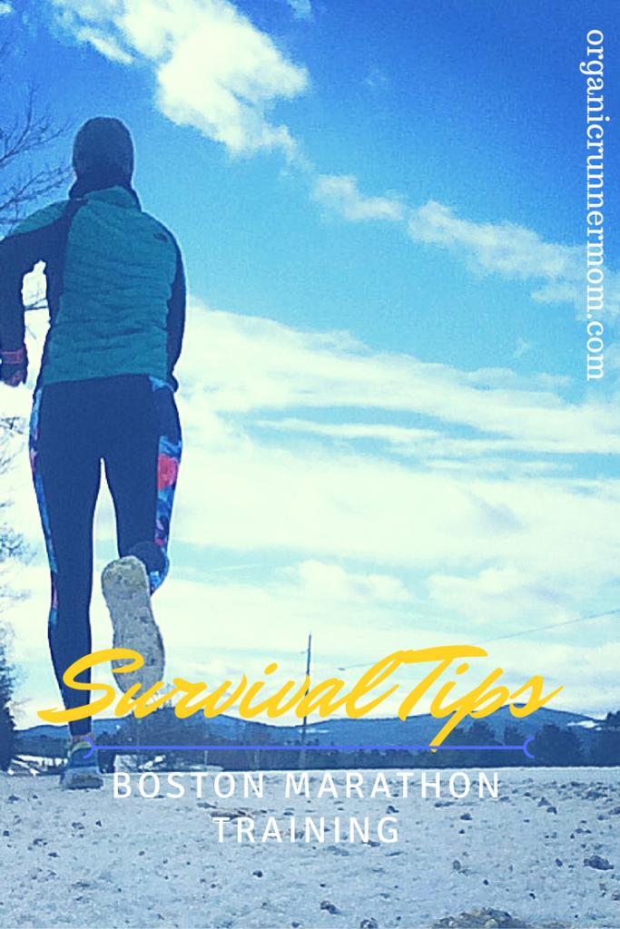 Survival Tips for Training for training for the Boston Marathon Running