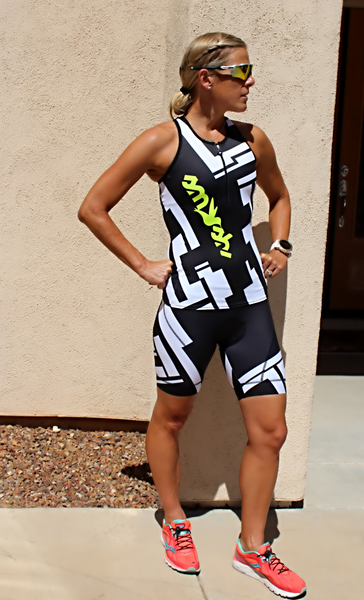 Chisel Tri Top and Tri short from SMASHFESTQUEEN Gift Guide Triathletes