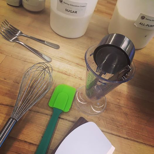 Baking Class tools