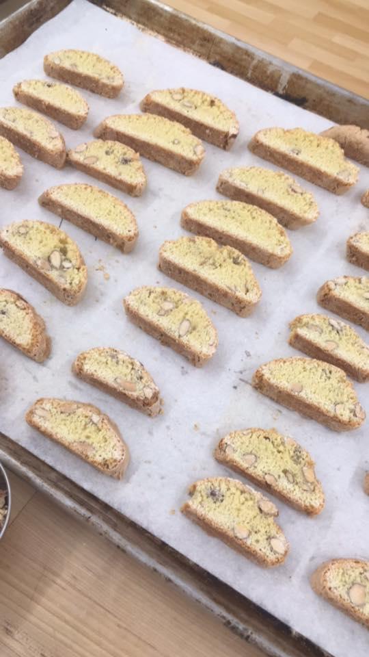 Biscotti di Prato baking class